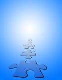 Puzzlespiel-Stücke Lizenzfreie Stockbilder