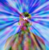 Puzzlespiel-Verstand Stockfoto