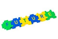 Puzzlespiel-Zukunft Stockbild
