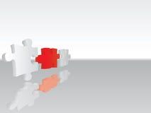 Puzzlespielanschluß 3 Stockbilder