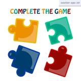 puzzlespiele vektor abbildung