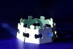 Puzzlespiele Lizenzfreie Stockfotos