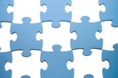Puzzlespiele mit fehlenden Teilen Stockbild