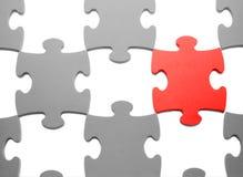 Puzzlespiele mit fehlenden Teilen Lizenzfreies Stockfoto