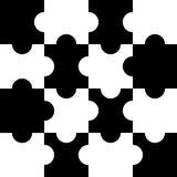 puzzlespiele vektoren Lizenzfreies Stockfoto