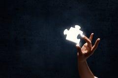 Puzzlespielelement Lizenzfreies Stockbild
