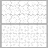 Puzzlespielhintergründe Stockfotografie