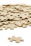 Puzzlespielhintergrund Stockfotos