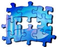Puzzlespielhintergrund lizenzfreie abbildung