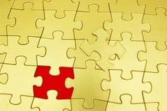 Puzzlespielhintergrund Lizenzfreies Stockbild