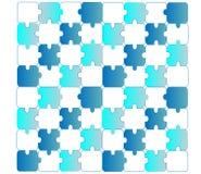 Puzzlespielhintergrund Lizenzfreie Stockfotografie
