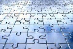 Puzzlespielhintergrund stock abbildung