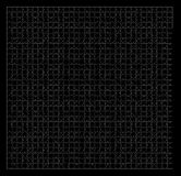 Puzzlespiellaubsägenmuster stockfoto