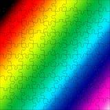 Puzzlespielplatte Lizenzfreies Stockbild