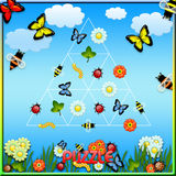 Puzzlespielprogrammfehler Stockbilder