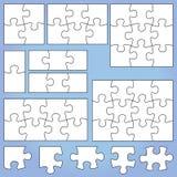 Puzzlespielsatz Stockfotografie