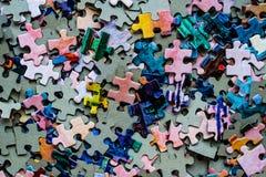 Puzzlespielsatz Lizenzfreie Stockfotos
