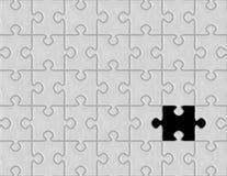 Puzzlespielspiel Stockfoto