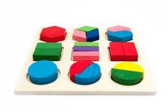 Puzzlespielspielzeug stockbild