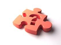 Puzzlespielstück Lizenzfreie Stockbilder