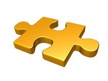 Puzzlespielstück Stockfotos