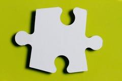 Puzzlespielstück Lizenzfreies Stockfoto