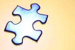 Puzzlespielstück Stockfotografie