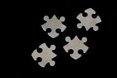 Puzzlespielstücke lizenzfreie stockbilder