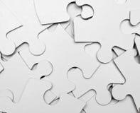 Puzzlespielstücke Stockfoto