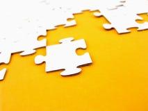 Puzzlespielstücke Lizenzfreie Stockfotos