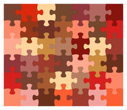 Puzzlespielvektor Lizenzfreies Stockfoto