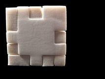 Puzzlespielwürfel Lizenzfreie Stockbilder