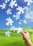 Puzzling Elements Royalty Free Stock Photo