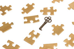 Puzzling Solutions Royalty Free Stock Image