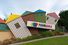 Puzzling World in Wanaka Town New Zealand Stock Image