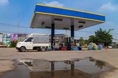 PV加油站 库存图片