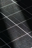 PV module. Multi-crystalline photovoltaic Solar cells module royalty free stock photography