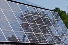 PV Panels Royalty Free Stock Photography