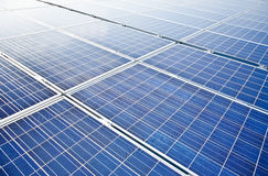 Pv solar modules Stock Image