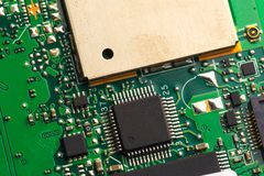 PVB mother board   on white stock photos
