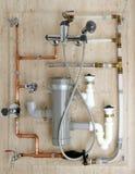 PVC πολυαιθυλενίου υδρ&alph στοκ φωτογραφία με δικαίωμα ελεύθερης χρήσης