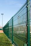 Pvc上漆的篱芭 库存照片