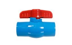 PVC ball valve Royalty Free Stock Photos
