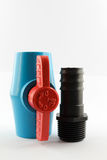 PVC ball valve. Stock Photography