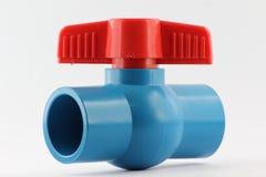 PVC ball valves Stock Photo