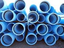 PVC blu Fotografia Stock Libera da Diritti