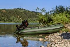 Pvc boat Royalty Free Stock Photos