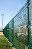 Pvc coated fence Stock Photos