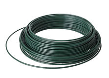 PVC coated wire roll Stock Photos