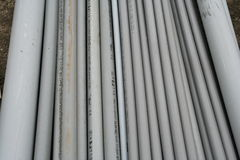 PVC conduit 2 Royalty Free Stock Images